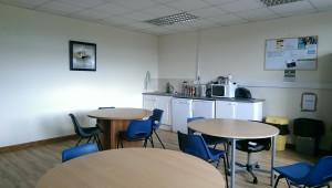 Canteen in Enterprise Centre