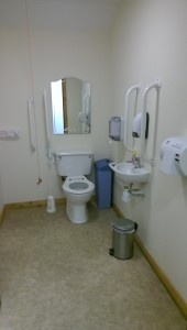 Wheelchair user toilets